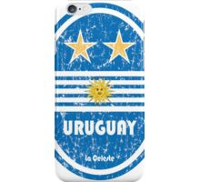 World Cup Football 4/8 - Uruguay (Distressed) iPhone Case/Skin