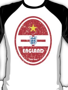 World Cup Football 6/8 - England (Distressed) T-Shirt