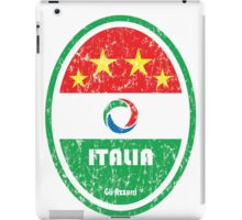 World Cup Football 2/8 - Italia (Distressed) iPad Case/Skin