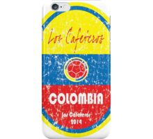 World Cup Football - Colombia iPhone Case/Skin