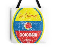 World Cup Football - Colombia Tote Bag