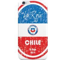 World Cup Football - Chile iPhone Case/Skin