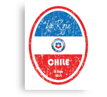 World Cup Football - Chile Canvas Print