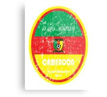 World Cup Football - Cameroon Metal Print