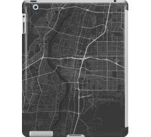 Albuquerque, USA Map. (White on black) iPad Case/Skin