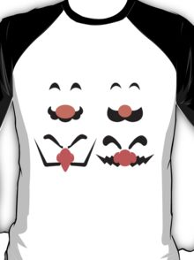 Face Of T-Shirt