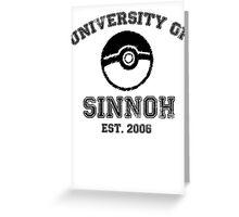 University of Sinnoh Greeting Card