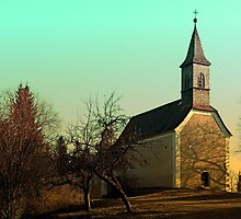 The village church of Hollerberg I   architectural photography by Patrick Jobst