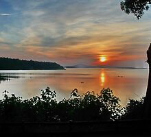 Sunrise on Vancouver Island,  by AnnDixon