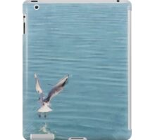 Seagull over the water iPad Case/Skin