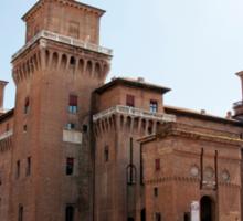 Ferrara - Castello Estense Sticker
