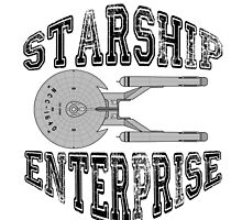 Star Trek - Enterprise NX-01 Logo by hellafandom