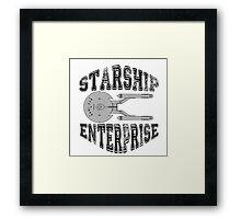 Star Trek - Enterprise NX-01 Logo Framed Print