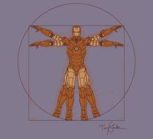 Vitruvian Iron! Kids Clothes