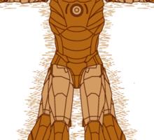 Vitruvian Iron! Sticker