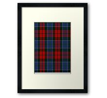 00022 John Patterson Clan/Family Tartan  Framed Print