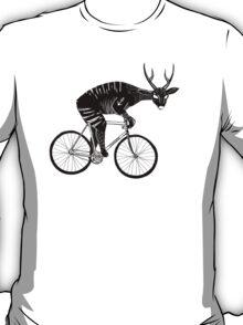 Deer & Bicycle T-Shirt