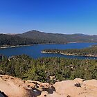 Big Bear Lake by Rosalee Lustig