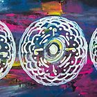 Moon Cycle Mandala by KendraJKantor