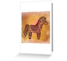 Ceremonial Indian Pony Greeting Card