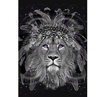 Don't Define Your World (Chief of Dreams: Lion)  Photographic Print