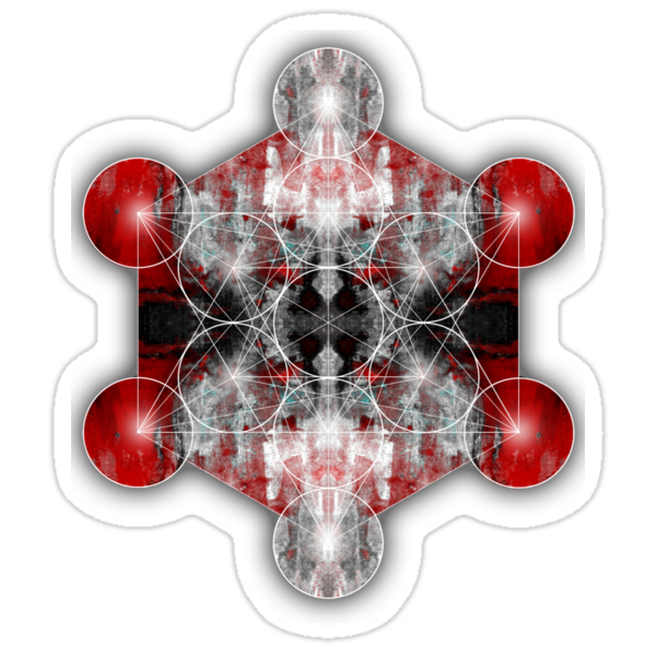 Metatron's Cube red by filippobassano