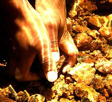 Hands Alit by Adam Northam