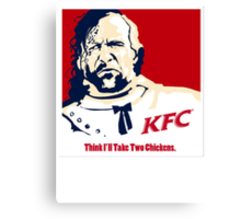 The Hound KFC Chicken. Canvas Print