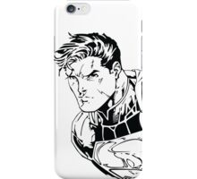 The Man of Steel (Ink) iPhone Case/Skin