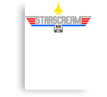 Top Starscream Canvas Print