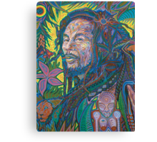 Rasta Sun God Canvas Print