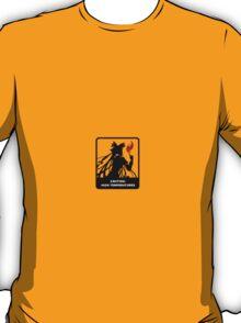 caution high temperatures T-Shirt