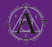 A is for Alchemy (Simple/SM) T-Shirt ONLY by dferriman
