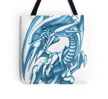 blue eyes white dragon yugioh Tote Bag