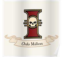 Ordo Malleus (Warhammer) Poster
