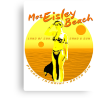 Mos Eisley Beach Canvas Print
