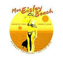 Mos Eisley Beach Photographic Print