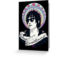 Julian Casablancas Greeting Card