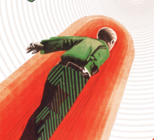 Himmelskibet (A Trip To Mars) Sticker