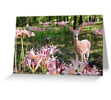 Ozark Country Garden Greeting Card