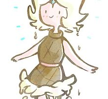 Frozen Yogurt Princess by lyndiewitt