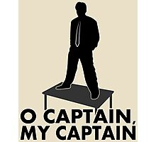 O Captain, my Captain Photographic Print