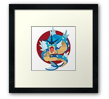 Gyarados - Basic Framed Print