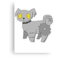 Pug Robot Canvas Print