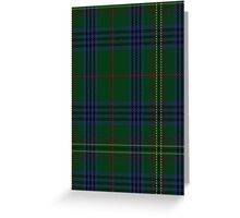 00032 Kennedy Clan Tartan  Greeting Card