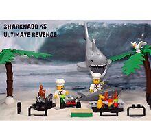 Sharknado 45: Ultimate Revenge - Tee style by themindfulart