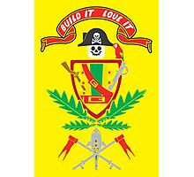 """""""Old School Family Crest"""" Photographic Print"""