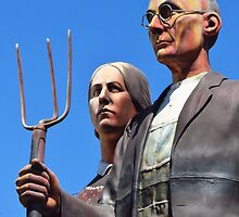 """An """"American Gothic"""" by lorilee"""