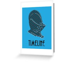 """Timeline"" Greeting Card"