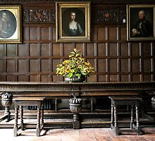 Interior of Ightham Mote by Ludwig Wagner